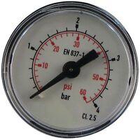 Ideal Logic Logic+ 24 30 35 E ES System Code Combi Boiler Pressure Gauge 175679