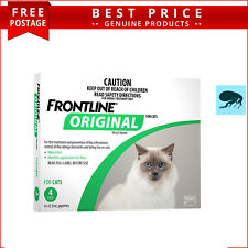 Frontline Original GREEN for Cats and Kittens 4 Doses Flea Prevention