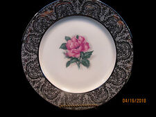 "VOGUE FINE CHINA ""SILVER LACE"" 6 EXCELLENT  CONDITION DINNER PLATES  $192 VALUE"