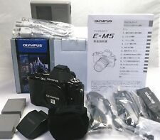 Olympus OM-D E-M5 16.1 MP Digital Camera Boxed and Extras [Mint] from Japan