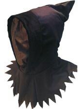 Ghoul Hood Mens Grim Reaper Halloween Face Mask Fancy Dress