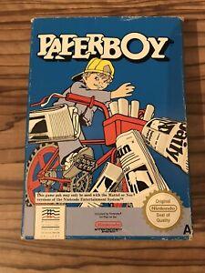 Paper Boy Nintendo NES Box Only PAL A