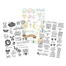 Simple Stories ~ OH, BABY! ~ Clear Stickers
