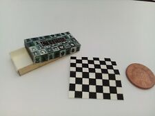 1/12 Scale Board game Chess for Dollshouse Miniature Display