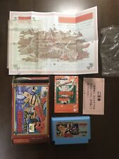 Game soft Famicom 『Fight! Ra-men man』Box and with an instructions from Japan④