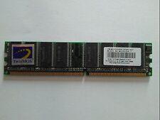 512MB TwinMOS DDR1 RAM PC3200U 400MHz CL2.5 2/5ft  2G9J16A-TT
