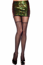 Damenstrumpfhosen aus Nylon mit Streifen