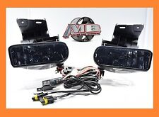 Tinted Smoked Fog Lights Chevy 99-02 1500 00-01 3500 00-06 Suburban Tahoe Wiring