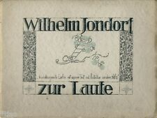 Wilhelm jondorf: 6 self-composed songs for lute-Volume 1 1920