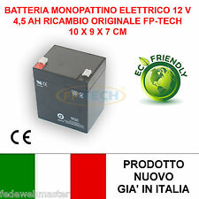BATTERIA 12 V 4,5 AH DI RICAMBIO PER MONOPATTINO ELETTRICO 24 V 120W E-SCOOTER
