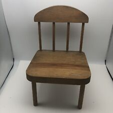10  Inch Tall  Small Wood Doll Play Set Toy Or Prop Chair