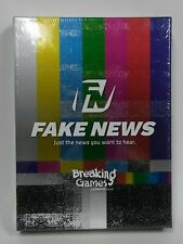 Fake News Card Game for Adults Party Fun Case Box