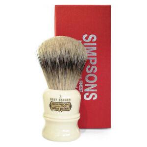 SIMPSONS Duke D3 Best Badger Rasage Brush - 0657968075474