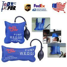 2pcs Inflatable Shim Open Pry Air Pump Wedge Emergency Car Window Door Hand Tool