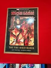 Invincible iron Man the Five Nightmares Graphic Novel Marvel Avengers