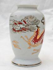"""Blumenvase Vase Porzellan """"nimm das gute nimm Lünders"""" Drache Drachen"""