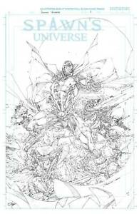 (2021) SPAWN UNIVERSE #1 1:50 Brett Booth Variant Cover!