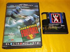 JOHN MADDEN FOOTBALL '92 Sega Mega Drive Versione Europea PAL ○ SENZA MANUALE CN