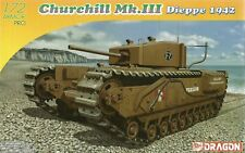 Dragon 1/72 (20mm) Churchill Mk III Dieppe 1942