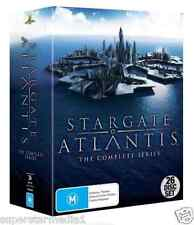 STARGATE ATLANTIS Complete Series SEASONS 1 - 5 : NEW (27-Disc Set) DVD