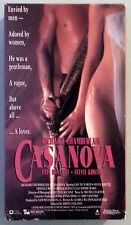 richard chamberlain  CASANOVA faye dunaway VHS VIDEOTAPE
