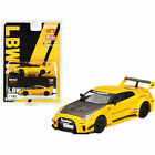 MINI GT 1:64 LB SILHOUETTE WORKS NISSAN 35GT RR VER.1 MGT00182 YELLOW