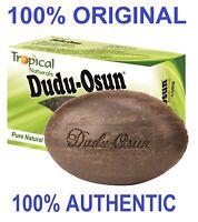 100% All Natural Dudu Osun Black Soap Anti Acne,Fungus,Blemish,Psoriasis,Eczema