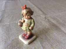 Vintage Hummel Goebel Collector Club Figurine I Brought You a Gift Girl Basket