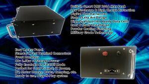 2500W Battery Samsung 2.5Kwh Li-ion Pack Solar RV Golf Server UPS 5yrs Warranty