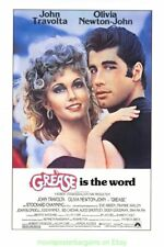 GREASE MOVIE POSTER 27x40 Inch Rolled One Sheet Paramount 1990's  Restrike