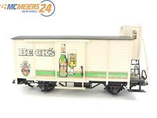 """E122 LGB Spur G 4026 Güterwagen Bierwagen """"Beck's - löscht Kenner-Durst"""""""