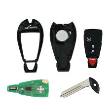 Key Shell Fob Keyless Remote Chip For Dodge Ram 1500 2500 3500 4500 Fobik Star