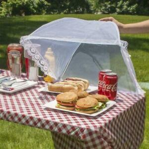 LARGE Mesh Screen Food Cover Umbrella Tents Outdoor Picnic Food Covers