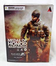 "Play Arts Kai EA Medal of Honor Warfighter Tom Preacher 10"" Action Figure MIB"