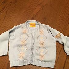 Bestickte Baby-Strickjacken für Jungen aus 100% Baumwolle