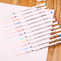 12 Colors Whiteboard Markers White Board Dry-Erase Marker Pens Set Stationary