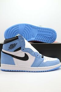 Nike Air Jordan 1 High OG UNC University Blue 555088-134 Men/GS/PS IN HAND SHIP