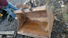 "EDF Quick Attach  48""  EXCAVATOR GRADING BUCKET Kubota Bobcat Cat"