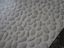 PVC CV 9,25€/m² Bodenbelag Steine grau 200 cm Breite