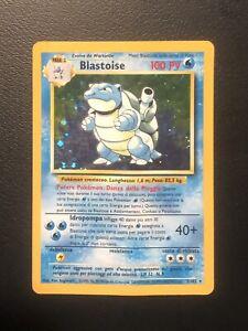 Blastoise 💦  2/102 - HOLO - Set Base - ITA WOTC - lotto carte Pokemon - rara