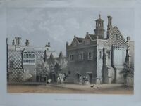 C1830 Antico Stampa The Priory Di San Osyth Essex