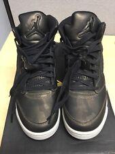Nike Air Jordan V (5) Retro Premium Heiress High Top GA New With Box Size 9Y BLK