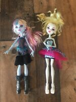 Monster High Doll Lot of 2 with some accessories