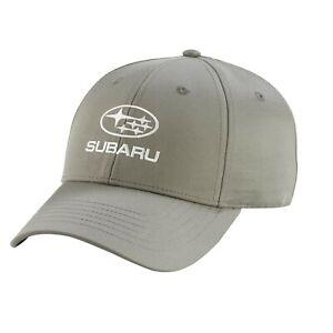 Genuine Subaru Grey Recycled rPET Cap Hat Impreza STI WRX Forester Outback NEW