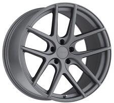 17x8 TSW Geneva 5x112 Rims +45 Matte Gunmetal Wheels (Set of 4)