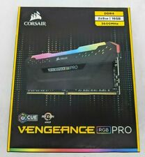 Corsair Vengeance RGB Pro 16 GB (2 x 8 GB) PC4-28800 (DDR4-3600) Memory -NR3177
