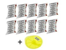 10 Descaling Tablets & Cleaning Service Svc Disc Disk Bosch Tassimo Descaler Kit