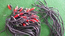 CINCHKABEL mit 2 Steckern, 1 Seite offen Set mit  8 Kabeln                  1018
