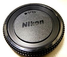 F Dust Body Cap Cover for NIKON FE FM FM10 D3200 D3100 Cameras - fits perfectly