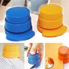 Paperclip Paper Binding Binder Office Home Staple Free Stapleless Stapler